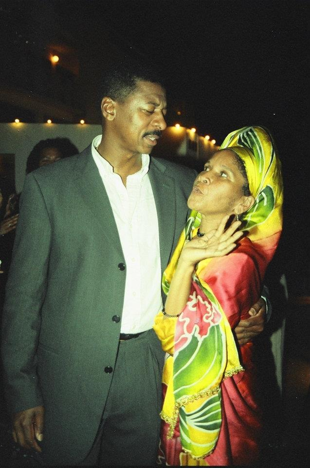 Robert Townsend and Aunty Thea